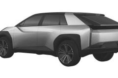 トヨタ 新型EV クロスオーバーSUV 特許画像_007