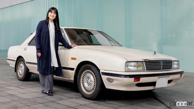日産が女優・伊藤かずえさん所有の初代シーマをレストア