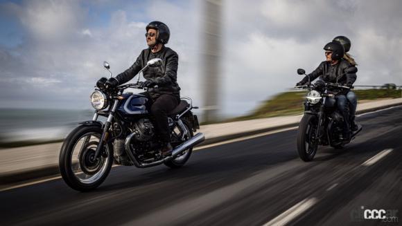 イタリア最古の2輪ブランドのモト・グッツィ伝統の新型V7を国内導入