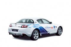2009年リース販売のプレマシー(水素ロータリーHEV)