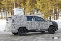 ジープに新型7シーターCUV登場か!? 市販型プロトタイプを初スクープ - Jeep Compass based 7 seater 10