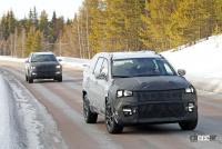 ジープに新型7シーターCUV登場か!? 市販型プロトタイプを初スクープ - Jeep Compass based 7 seater 2