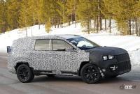 ジープに新型7シーターCUV登場か!? 市販型プロトタイプを初スクープ - Jeep Compass based 7 seater 6