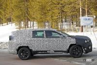 ジープに新型7シーターCUV登場か!? 市販型プロトタイプを初スクープ - Jeep Compass based 7 seater 8