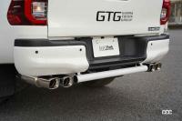 思わず真似したくなる、いぶし銀のカスタム技のハイラックス & RSの可能性を探るGRヤリス【東京オートサロン2021】 - GTG_HILUX05