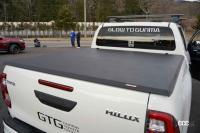 思わず真似したくなる、いぶし銀のカスタム技のハイラックス & RSの可能性を探るGRヤリス【東京オートサロン2021】 - GTG_HILUX07