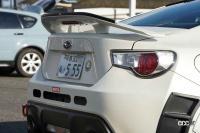 しっかりタイムが出せるのに街乗りも犠牲にならない「両道仕様」のBRZ【東京オートサロン2021】 - KURUMADOH_04