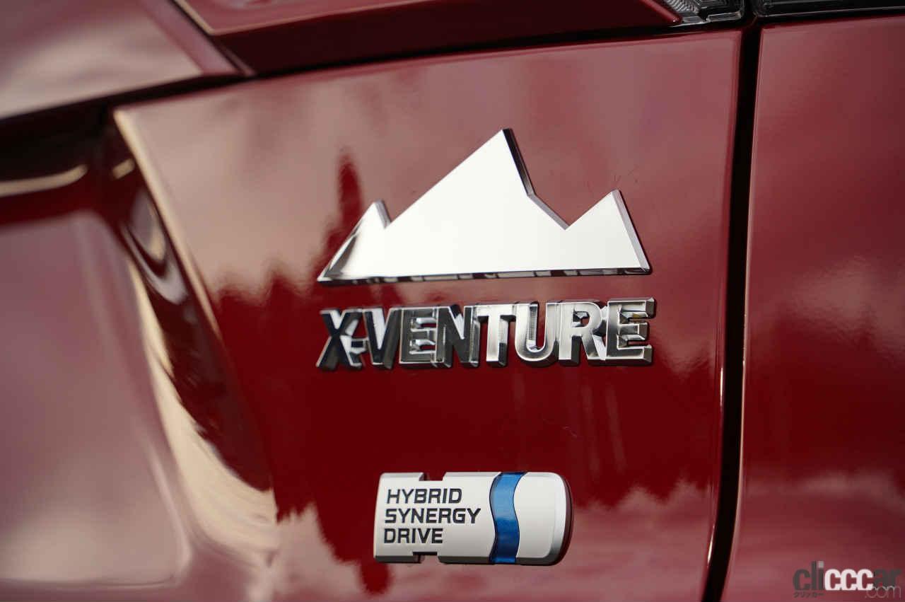 「迫力のAdventureルックなのに中身はHYBRIDというRAV4のステルス仕様【東京オートサロン2021】」の11枚目の画像