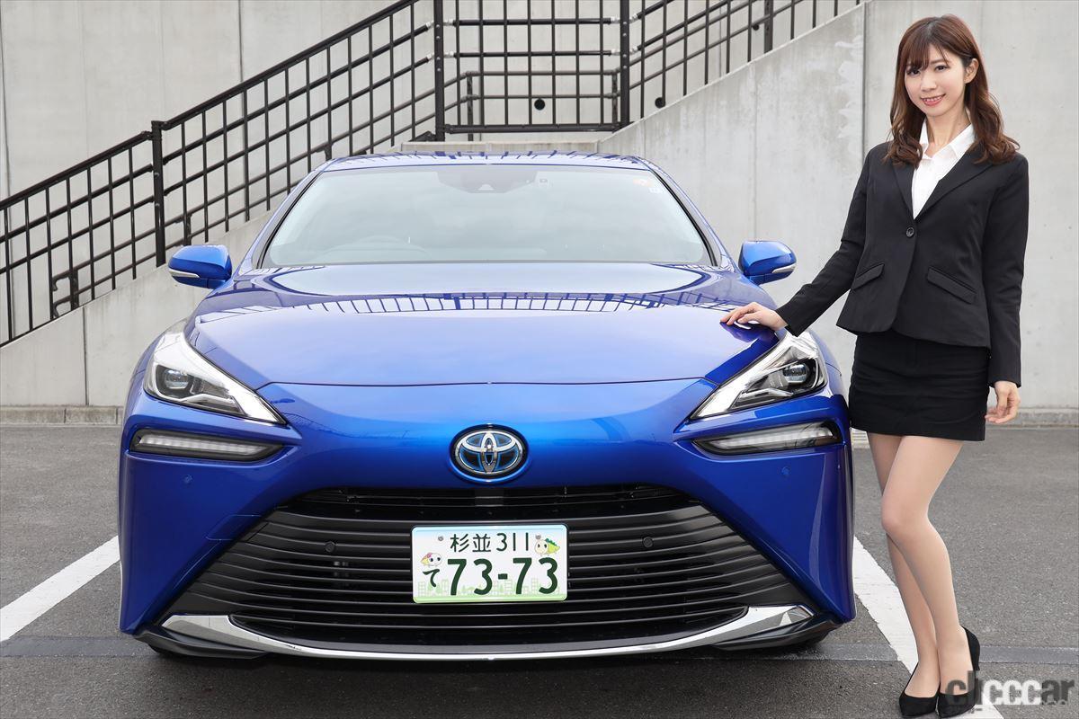 「トップレースクイーン・生田ちむさんと「新型トヨタMIRAI」に乗って感じた水素の利点とは?」の2枚目の画像