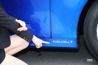 """燃料電池""""FUELCELL""""のバッヂ"""