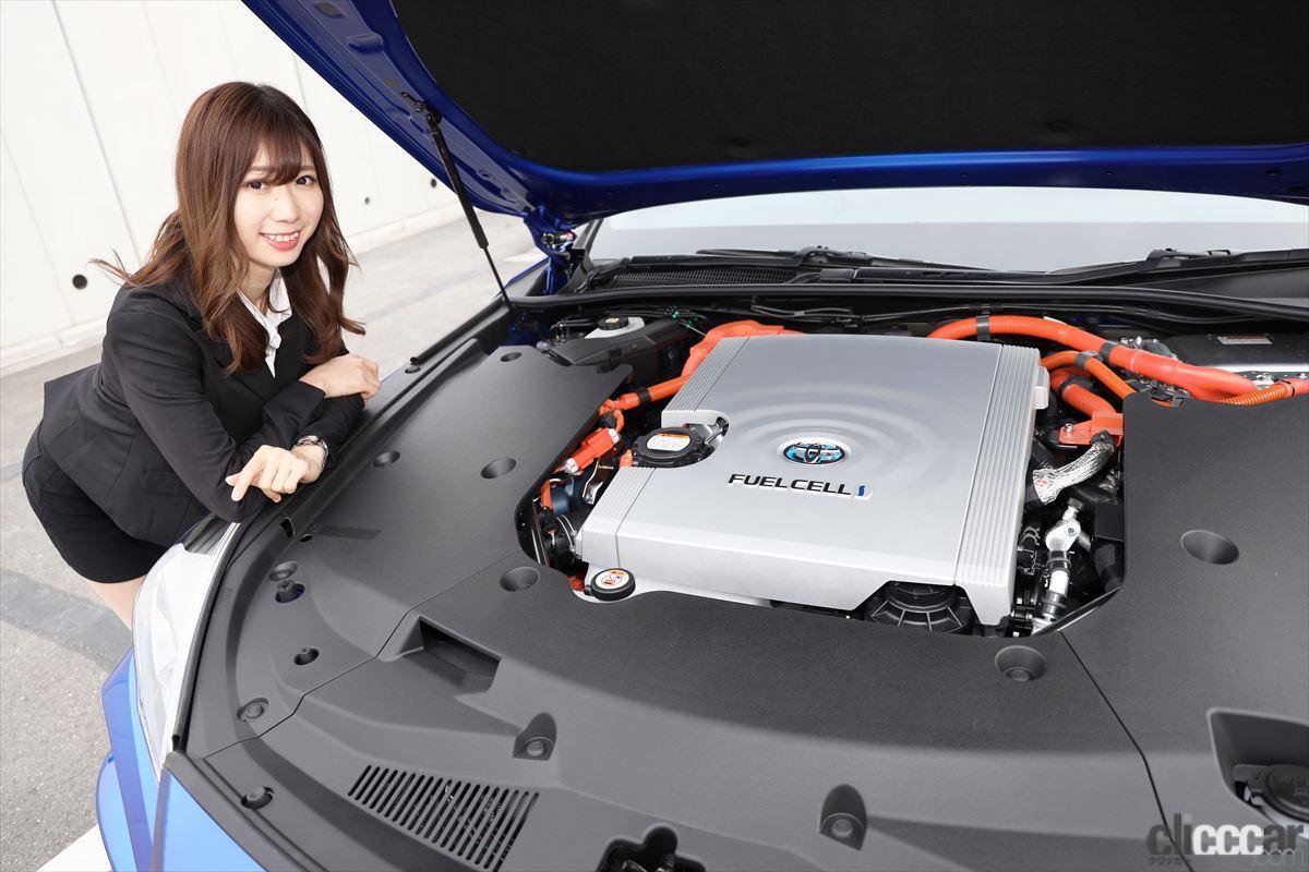 「トップレースクイーン・生田ちむさんと「新型トヨタMIRAI」に乗って感じた水素の利点とは?」の6枚目の画像