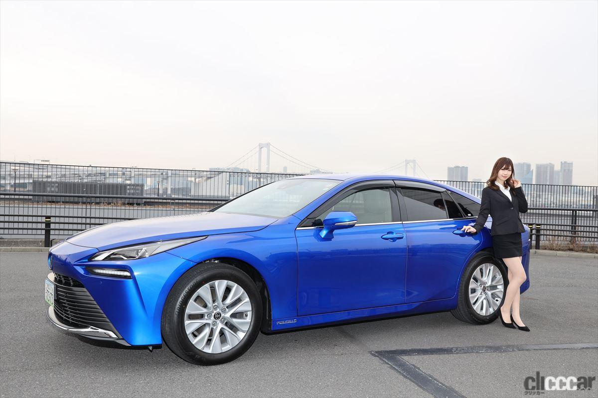 「トップレースクイーン・生田ちむさんと「新型トヨタMIRAI」に乗って感じた水素の利点とは?」の10枚目の画像