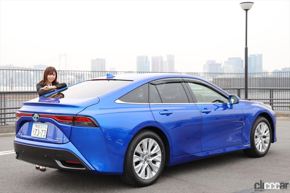 「トップレースクイーン・生田ちむさんと「新型トヨタMIRAI」に乗って感じた水素の利点とは?」の11枚目の画像