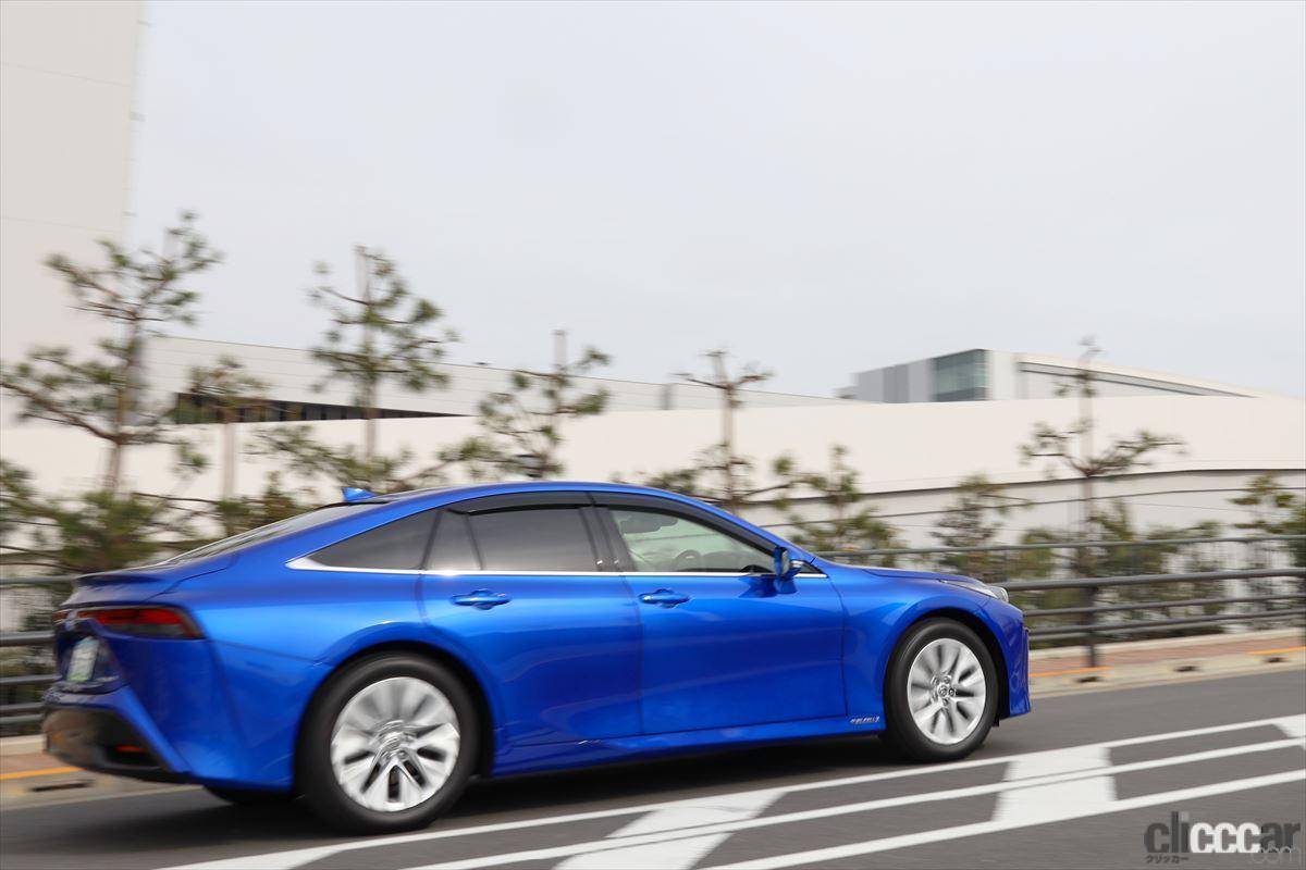 「トップレースクイーン・生田ちむさんと「新型トヨタMIRAI」に乗って感じた水素の利点とは?」の7枚目の画像