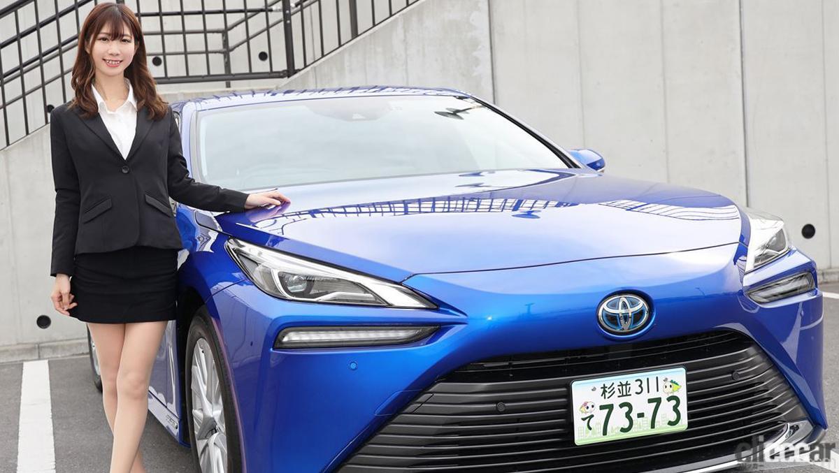 「トップレースクイーン・生田ちむさんと「新型トヨタMIRAI」に乗って感じた水素の利点とは?」の12枚目の画像
