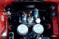 エイプリルフール。コンパクトスポーツの元祖トヨタ・スポーツ800デビュー!【今日は何の日?4月1日】 - 1965年発売のトヨタスポーツ800 空冷エンジン