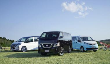 日産自動車 キャンピングカー