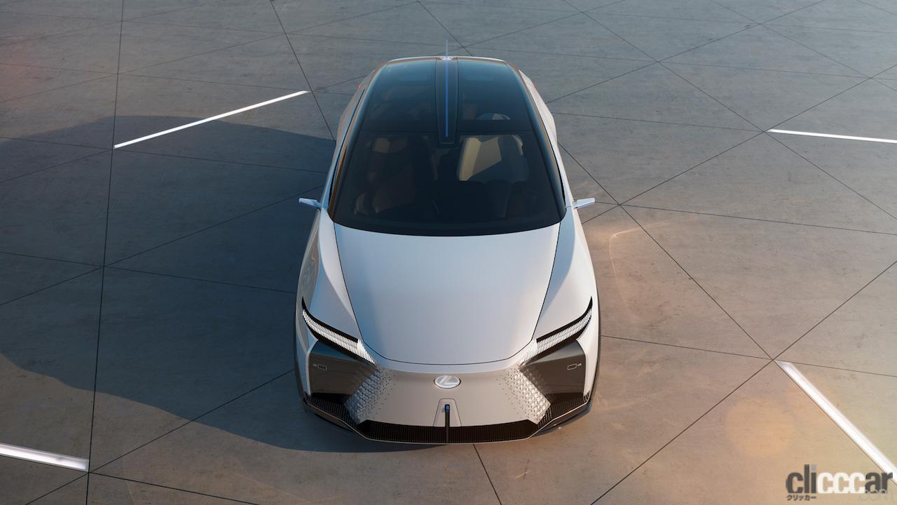 「レクサスRX450hと近い全長をもつ「LF-Z Electrified」は、新世代の四輪駆動力制御技術「DIRECT4」を搭載」の8枚目の画像