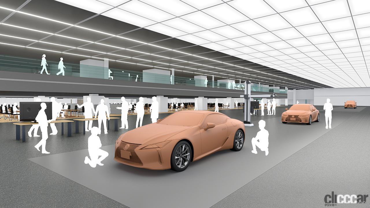 「レクサスが2025年までに10モデル以上のEV、PHV、HVなどの約20車種の新型や改良モデルを投入へ」の4枚目の画像