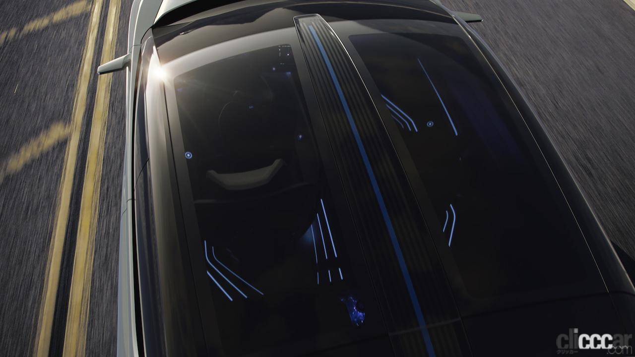 「レクサスRX450hと近い全長をもつ「LF-Z Electrified」は、新世代の四輪駆動力制御技術「DIRECT4」を搭載」の1枚目の画像