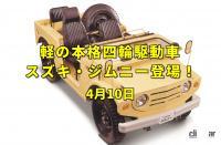 瀬戸大橋が開通。本格オフロード軽自動車スズキ・ジムニーがデビュー!【今日は何の日?4月10日】 - ジムニーEyeC