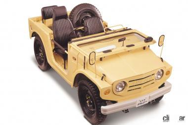 1970年発売の初代ジムニー