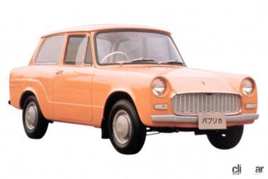 1961年発売の初代パブリカ