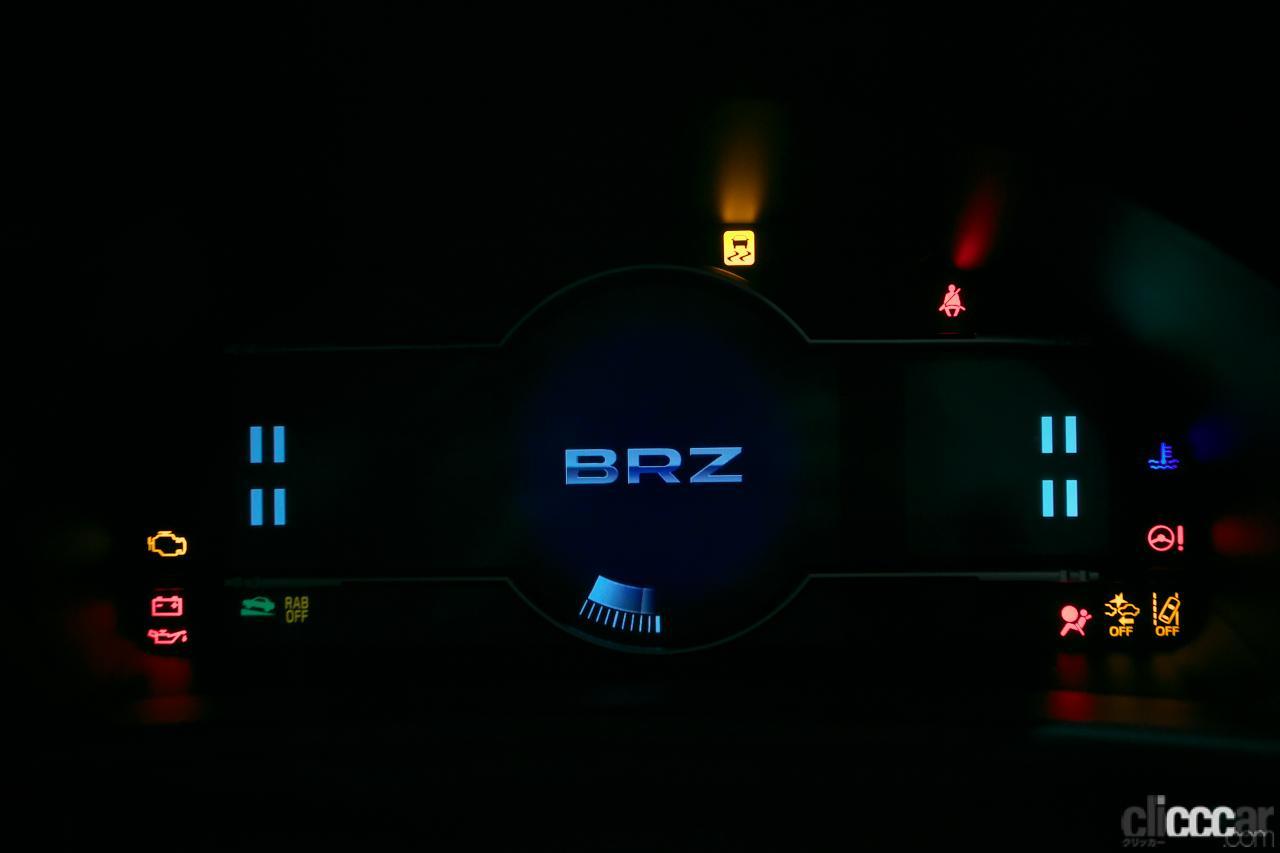 BRZプロトタイプ内装14