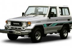 1984年発売のランクル70系