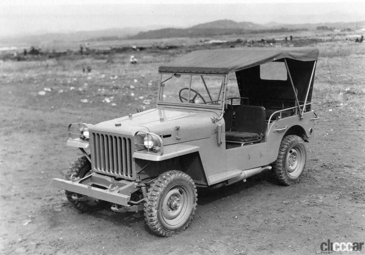 1951年発売のトヨタジープ