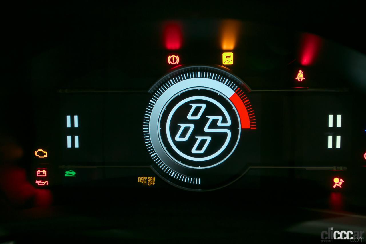 GR 86プロトタイプ内装07