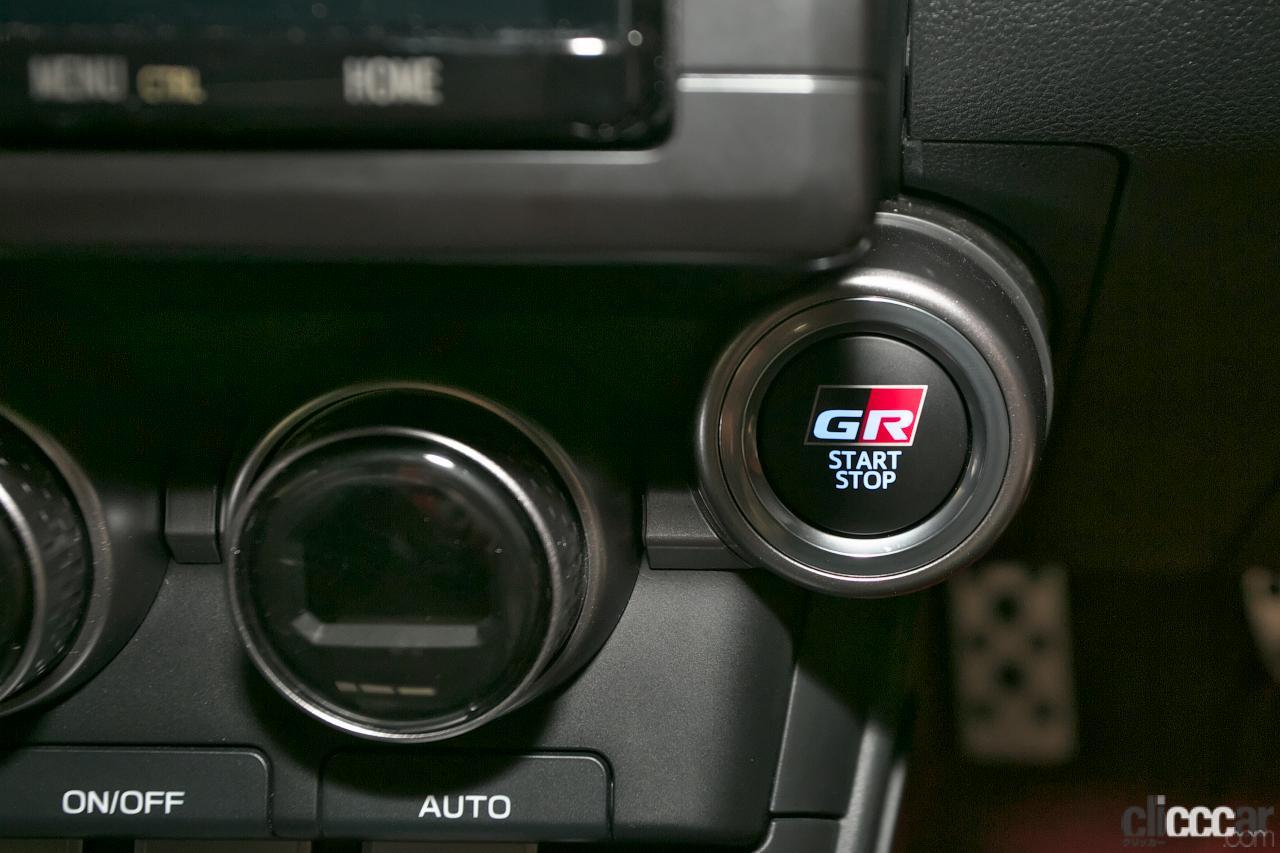 GR 86プロトタイプ内装10