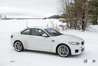 BMWの高性能モデル「M」に初のフルEV設定か!? プロトタイプを激写 - BMW M2 EV 11