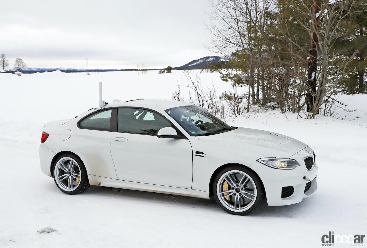 「BMWの高性能モデル「M」に初のフルEV設定か!? プロトタイプを激写」の6枚目の画像