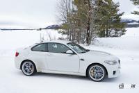 BMWの高性能モデル「M」に初のフルEV設定か!? プロトタイプを激写 - BMW M2 EV 12