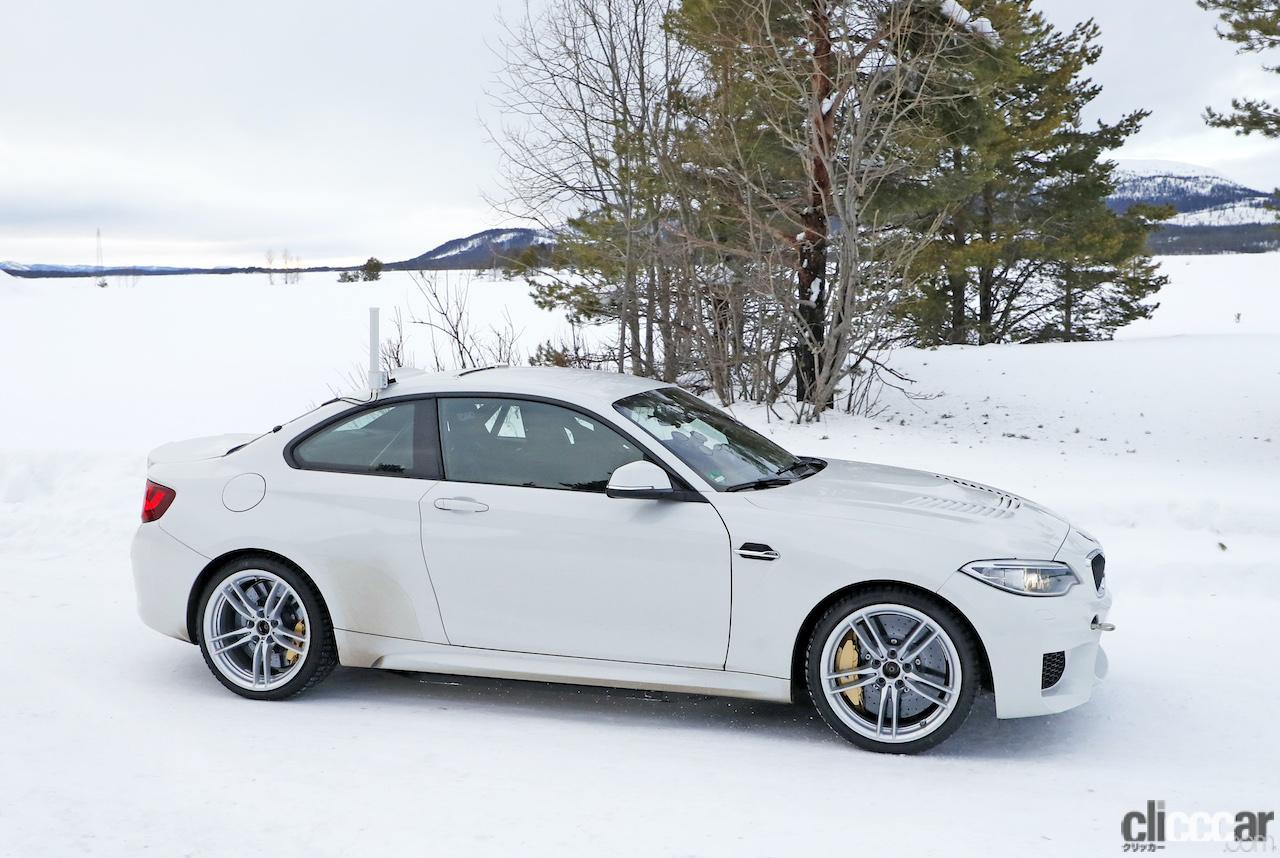 「BMWの高性能モデル「M」に初のフルEV設定か!? プロトタイプを激写」の7枚目の画像