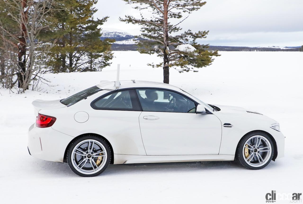 「BMWの高性能モデル「M」に初のフルEV設定か!? プロトタイプを激写」の8枚目の画像