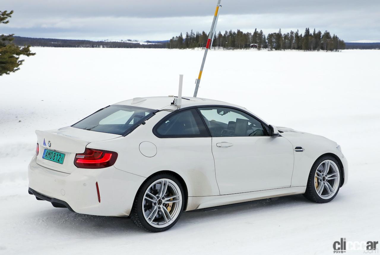 「BMWの高性能モデル「M」に初のフルEV設定か!? プロトタイプを激写」の9枚目の画像