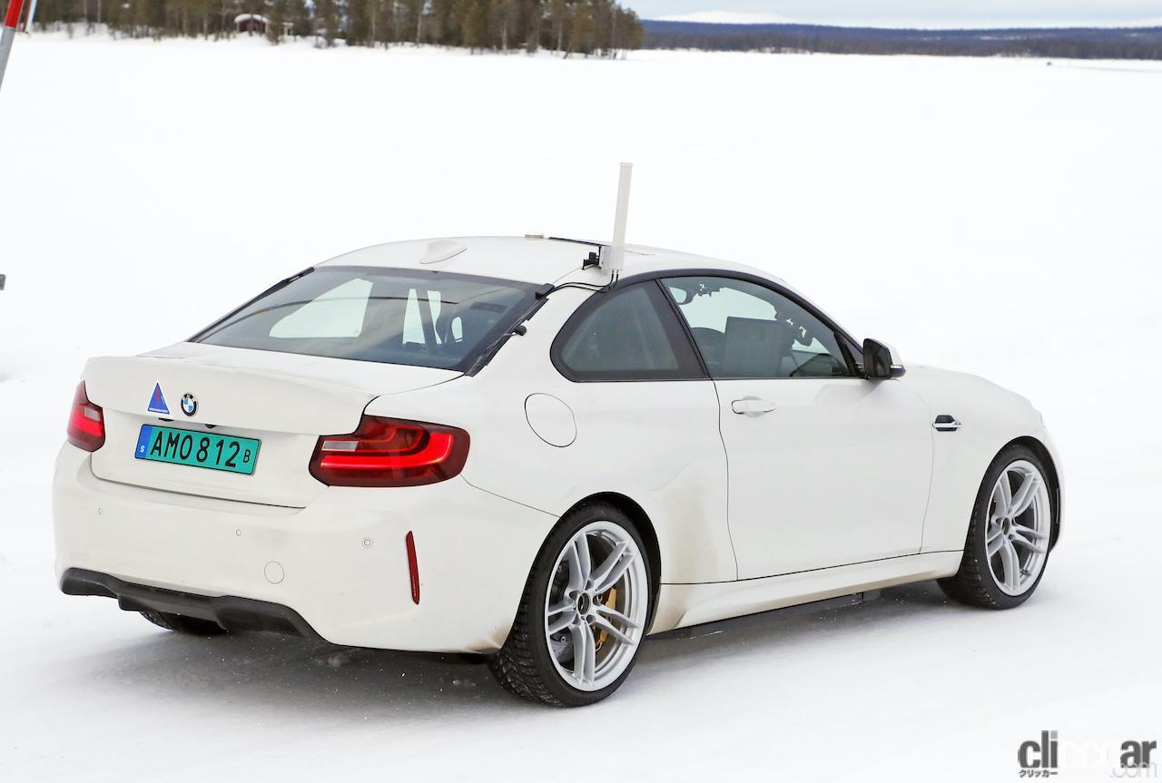 「BMWの高性能モデル「M」に初のフルEV設定か!? プロトタイプを激写」の10枚目の画像