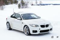 BMWの高性能モデル「M」に初のフルEV設定か!? プロトタイプを激写 - BMW M2 EV 9