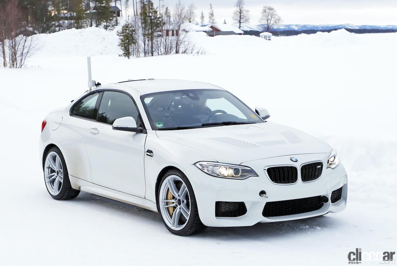 「BMWの高性能モデル「M」に初のフルEV設定か!? プロトタイプを激写」の4枚目の画像