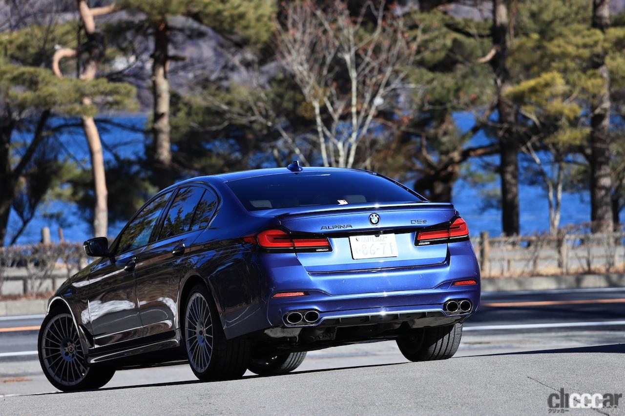 「BMW ALPINA D5 Sの0-100km/h加速4.8秒を誇る俊足な走りはまさにアルピナ・マジック」の6枚目の画像