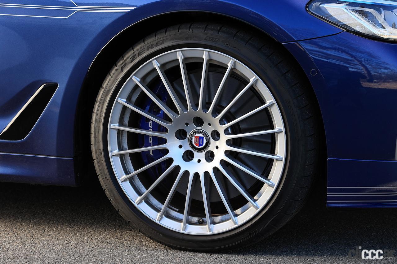 「BMW ALPINA D5 Sの0-100km/h加速4.8秒を誇る俊足な走りはまさにアルピナ・マジック」の3枚目の画像
