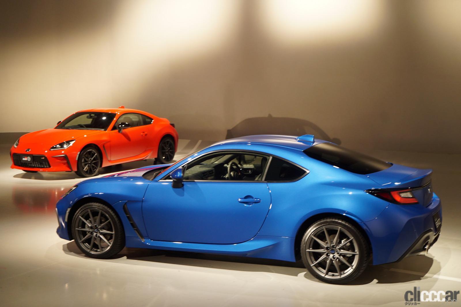 「クルマも性格は顔に出る? 新型GR 86と新型スバルBRZのキャラの違いは空力パーツの「模様」でわかる」の3枚目の画像