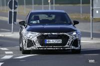 噂の最強モデルは450馬力! アウディRS3スポーツバック&セダン次期型をスクープ - Spy shot of secretly tested future car
