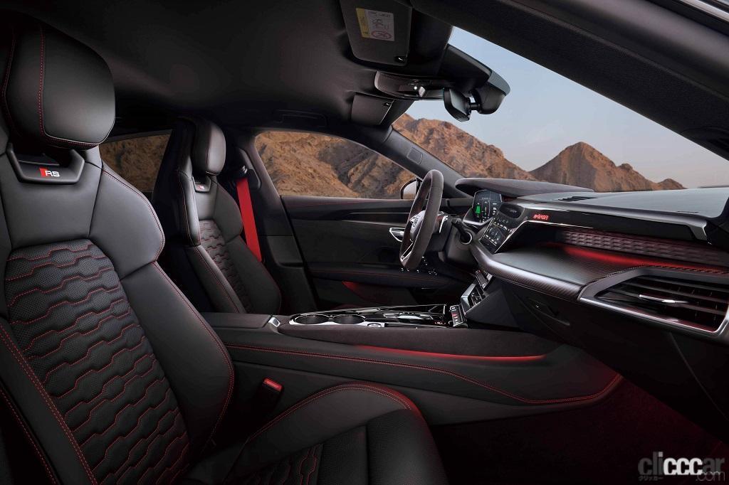 「アウディのEVらしい先進的でクールなエクステリアが際立つ「Audi e-tron GT」が日本初公開」の6枚目の画像