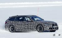 BMW M3初のツーリング、市販型は8速ATのみ設定か!? - BMW M3 Touring 6