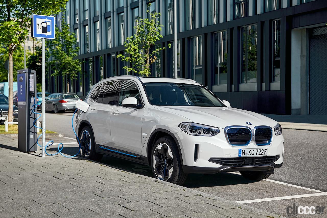 横浜ゴムの「ADVAN Sport V107」がBMWブランド初のEV「BMW iX3」の新車装着タイヤに