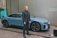 ブランドの新しいアイコンとなるEVのアウディe-tron GTは今秋に導入予定。車両本体価格1399万円から【アウディ e-tron GT発表・新車】 - audie-trongt_newcar_001