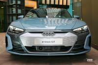 ブランドの新しいアイコンとなるEVのアウディe-tron GTは今秋に導入予定。車両本体価格1399万円から【アウディ e-tron GT発表・新車】 - audie-trongt_newcar_003